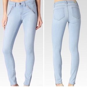 PAIGE by Nordstrom Dover ankle zip crop jeans